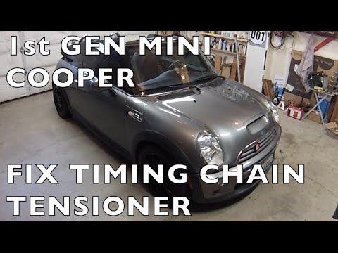 Replace MINI Cooper Timing Chain Tensioner  Gen 1 R50R52R53 2002 2006