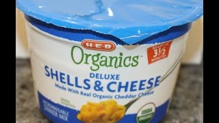 h e b organics deluxe shells cheese review