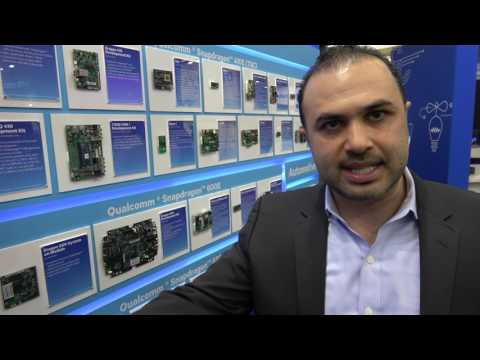 Qualcomm Snapdragon at Embedded World 2017