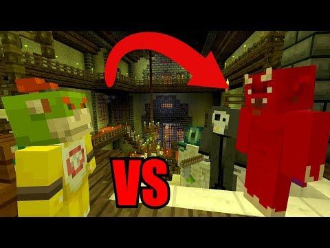 Bowser Jr VS The Devil! [EVIL!] | Nintendo Fun House | Minecraft Switch [248]