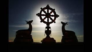 Das Rad der Lehre (Dharmarad)