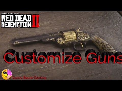 Customizing Guns in Red Dead Redemption 2 |