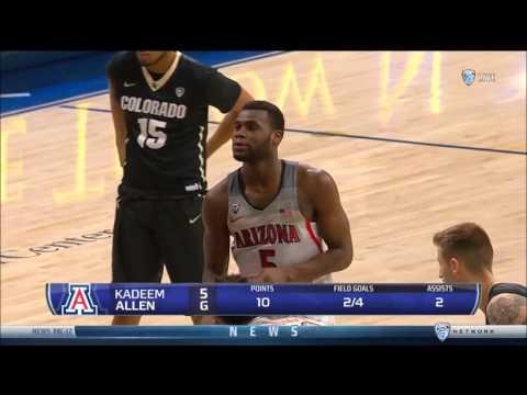 Kadeem Allen vs Colorado. 18Pts/5Reb. Highlights