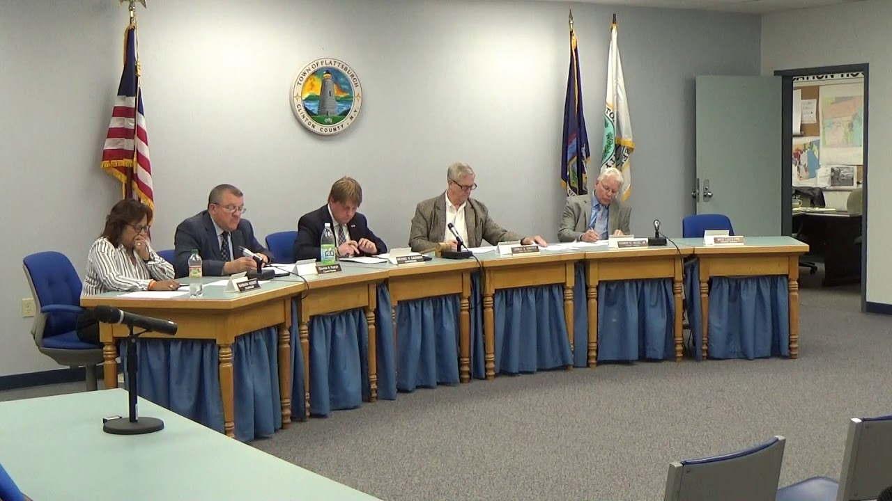 Town of Plattsburgh Meeting  10-4-18