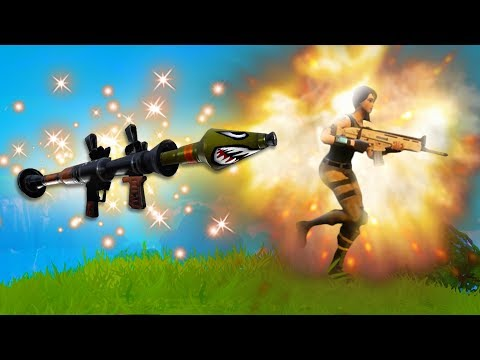 RUNNING FROM ROCKETS!! *NEW HIGH EXPLOSIVES MODE!* | Fortnite Battle Royale Funny Moments