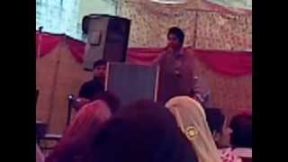 Sindhi Poetry By LALA AAMIR SINDHI at LAW DEPARTMENT SINDH UNIVERSITY .3gp