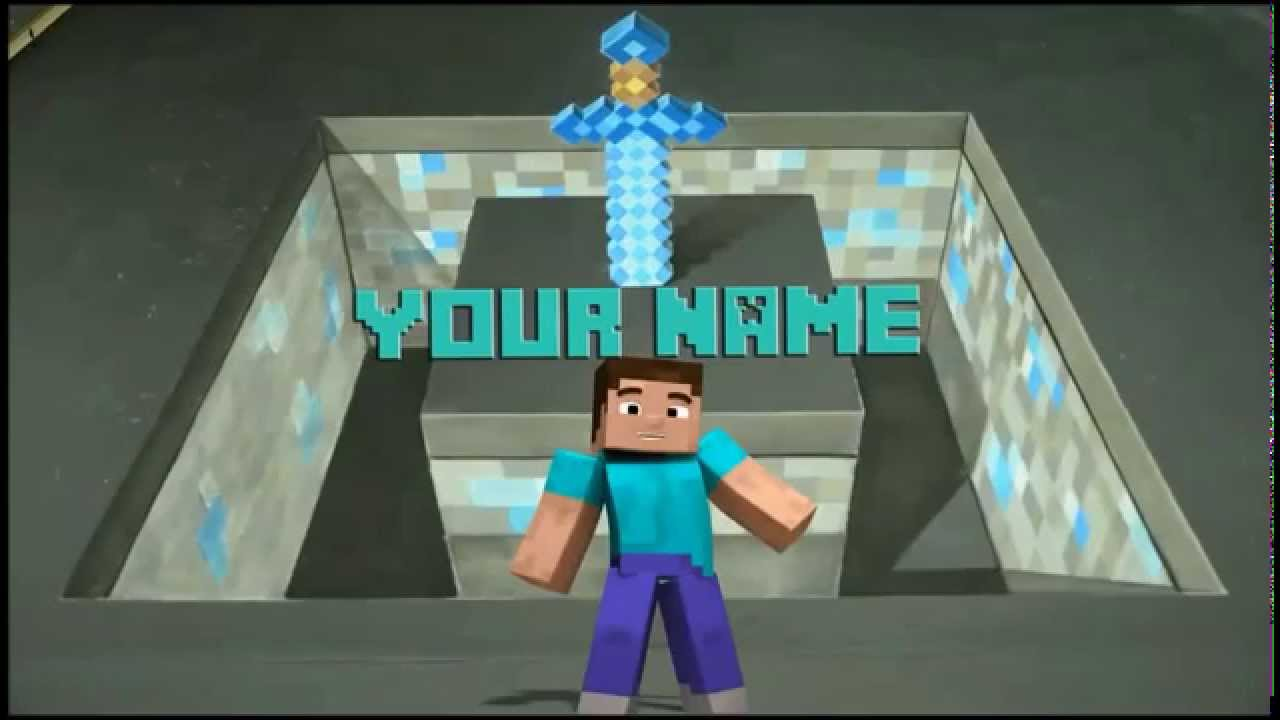 minecraft outro template movie maker - top 10 free minecraft intro outro templates down youtube