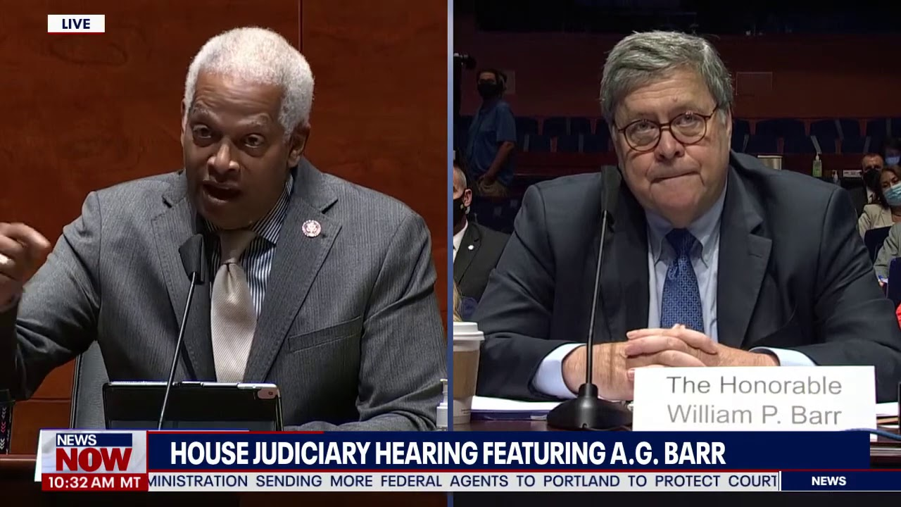 Download OUT OF CONTROL: A.G William Barr Can't Answer Questions During Hearing