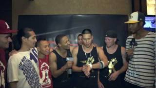 Fallen Kings (3 on 3 Bboy champions) at the 2011 Hip Hop International