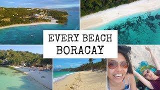 Every beach in BORACAY?! | Philippines 2019 | TravelGretl