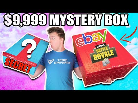 $9,999 VS $100 EBAY MYSTERY BOX 鈦夛笍馃摝 Fortnite, Toys & More! (Unboxing)