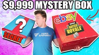 $9,999 VS $100 EBAY MYSTERY BOX ⁉️📦 Fortnite, Toys & More! (Unboxing) thumbnail