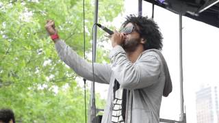 "Clipping. performs ""Work Work"" at AFROPUNK FEST 2014"