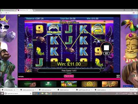 £300 dolphin gold slots