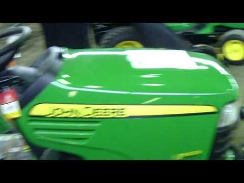 """John Deere X749 Ultimate Diesel Tractor with 46"""" Snowblower"""