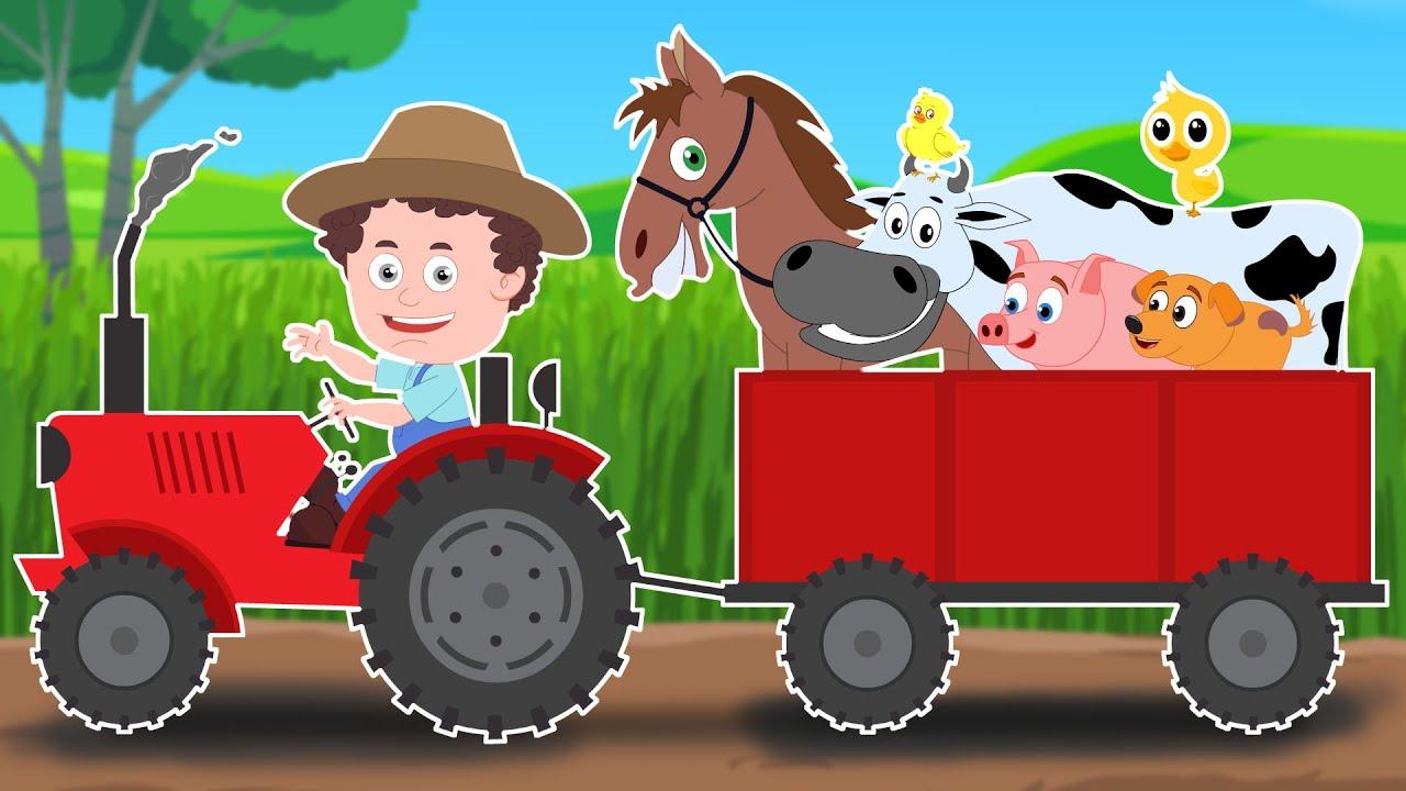 Schoolies Old Macdonald Had A Farm Nursery Rhymes