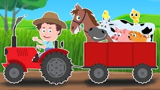 Repeat youtube video Schoolies | Old MacDonald Had A Farm | Nursery Rhymes | Kids Songs | Baby Rhymes