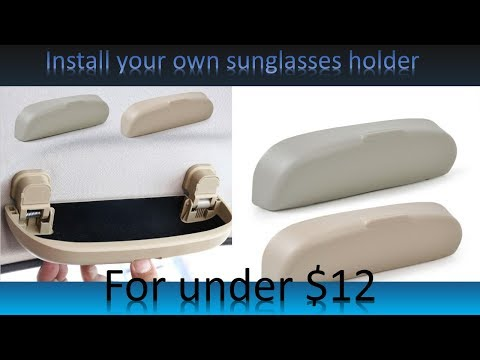 install-a-sunglasses-holder-in-your-car-for-under-$12