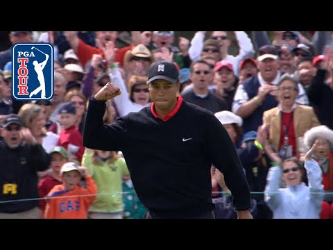 Tiger Woods' all-time top-20 shots at Farmers Insurance Open