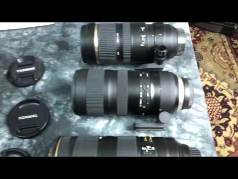 NEW Tamron SP 70-200mm f/2.8 Di VC USD G2 FIRST LOOK COMPARISON