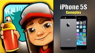 Subway Surfers - iPhone 5S Gameplay