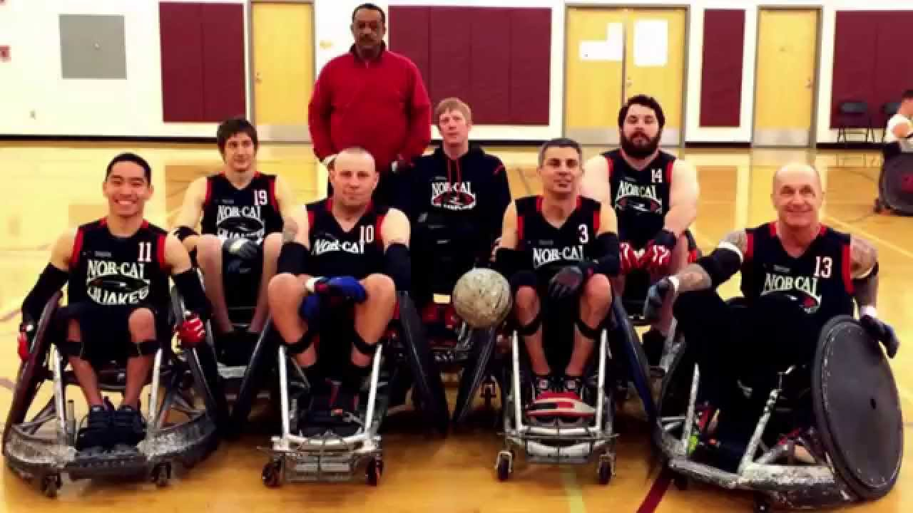 the norcal quakes wheelchair rugby team 2015 fundraiser youtube