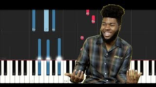 Khalid - Young, Dumb and Broke (Piano Tutorial)