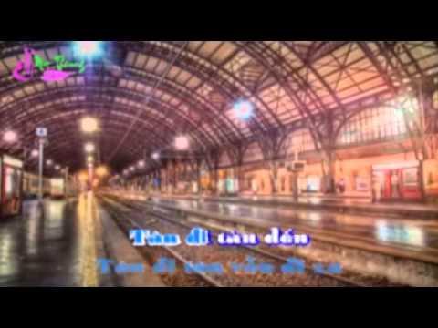 karaoke - Tau Ve Que Huong Song Ca Voi Yen Nhi