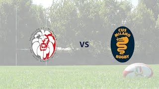 Monferrato Rugby vs Cus Milano Rugby