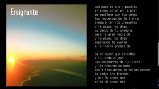 Ras Boti - Emigrante + Lyrics
