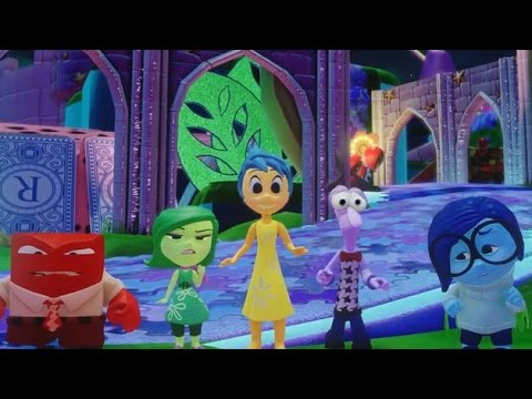 Disney Infinity 3.0 Inside Out Characters Review + Gameplay  [ALL Characters]