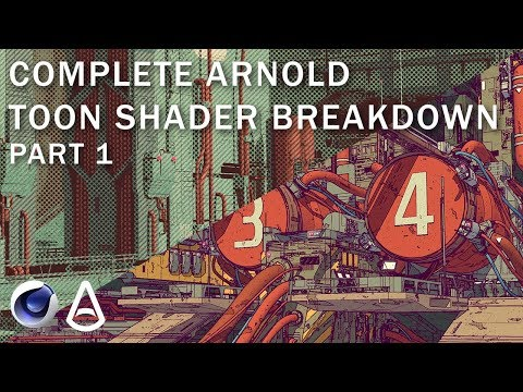 Breaking Down the Arnold Toon Shader in C4D - Lesterbanks