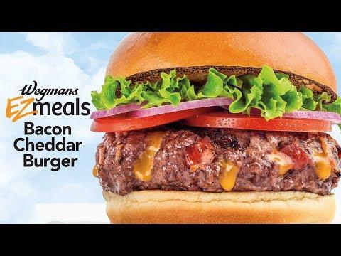 Wegmans EZ Meals - Bacon Cheddar Burger