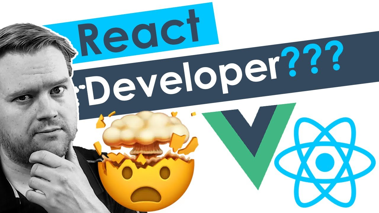 Trying React.js For The First Time | React.js For Vue Developers!