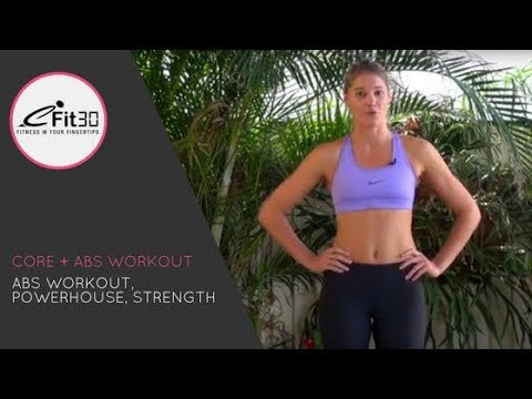 Core Strength Workout, Abs Workout, Powerhouse, Strength