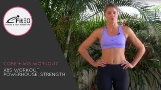 core strength abs workout