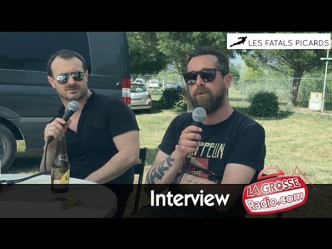 Fatals Picards - Country Club - L'interview Grosse Radio Rock - 4/06/2016