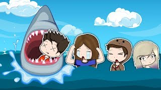 A SHARK WILL EAT THE ABNORMAL TEAM IN ROBLOX!
