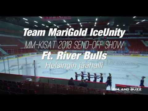 Team Finland Marigold IceUnity, Send-Off Show - Ft. RiverBulls, Helsingin jäähallissa 2018