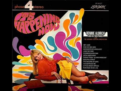 Ronnie Aldrich It's Happening Now FULL ALBUM LP Free MP3 Download Beatles Cover