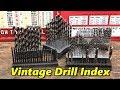 Shop Talk 25  Vintage Drill Indexes