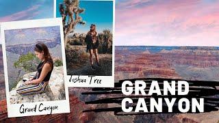 ПУТЕШЕСТВИЕ ПО США НА АВТО: ГРАНД КАНЬОН | КАЛИФОРНИЯ | АРИЗОНА | GRAND CANYON | JOSHUA TREE / Видео