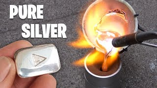 Casting Silver YouTube Play Button