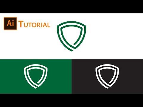 Shield Logo Design Tutorial Illustrator thumbnail