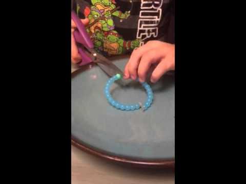 Life Bracelet Cutting It Open