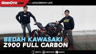 Bedah Kawasaki Z900 Full Carbon