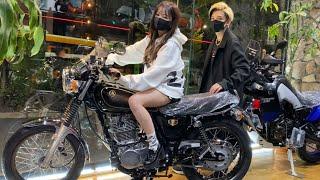 【単車女子】さおりんに約束通りバイク買ってあげた【ヘラヘラ100万人記念】