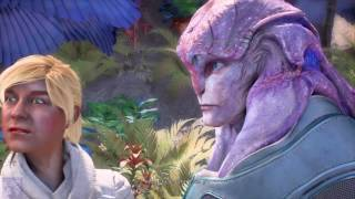 Mass Effect Jaal Sex Scene (Explicit with Nudity) - Mass Effect Andromeda Gameplay