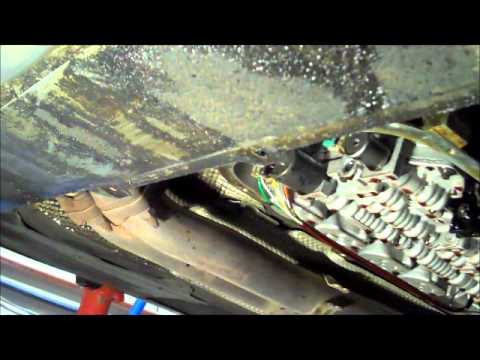 BMW e46 Automatic Transmission Fluid and Filter Changewmv  YouTube