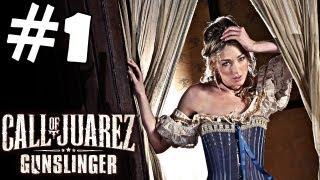 Call of Juarez Gunslinger Walkthrough Part 1 Gameplay Review Let